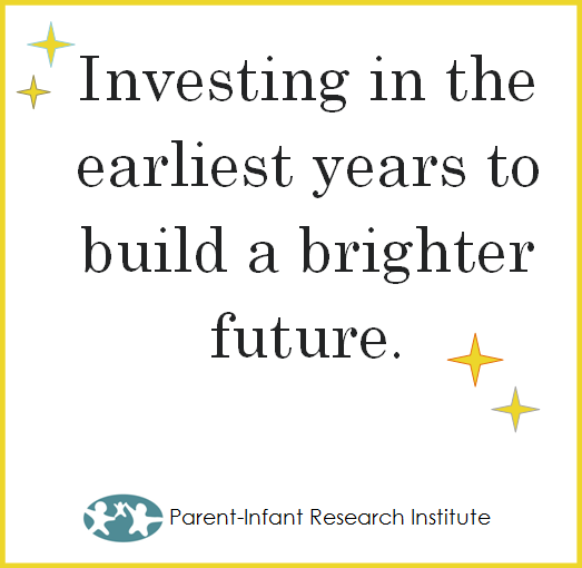 Investing in the earliest years to build a brighter future