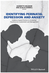 Identifying Perinatal Depression and Anxiety- New screening book