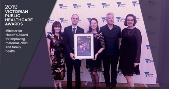 MumSpace receives prestigious Victorian Public Healthcare Award
