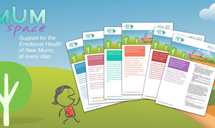 Supporting the mental health of new and expectant mums with our MumSpace Tip Sheets