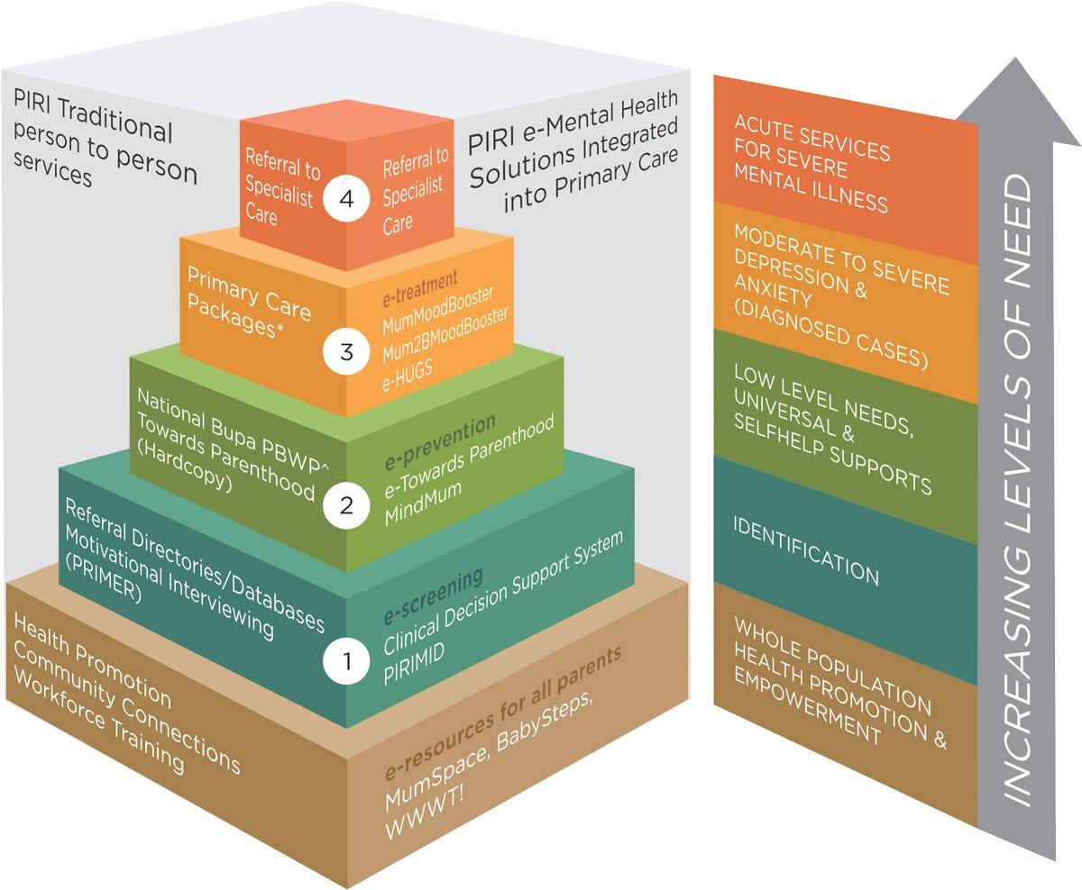 Stepped Care Model of PIRI Programs